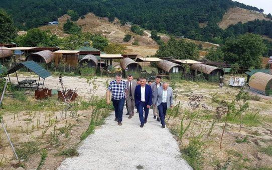Balıkesir Valisi Ersin Yazıcı Kaz Dağları Bilim ve Sağlıklı Yaşam Köyünü Ziyaret Etti