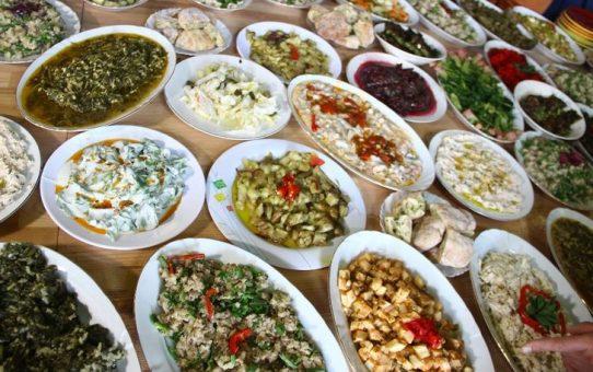 1. Geleneksel Kaz Dağları O yemekleri Şenliği