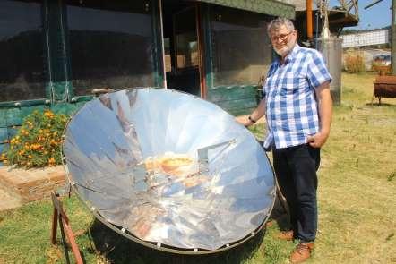 Sağlıklı Yaşam ve Bilim Köyü'nde yemekler güneş enerjisiyle pişiyor