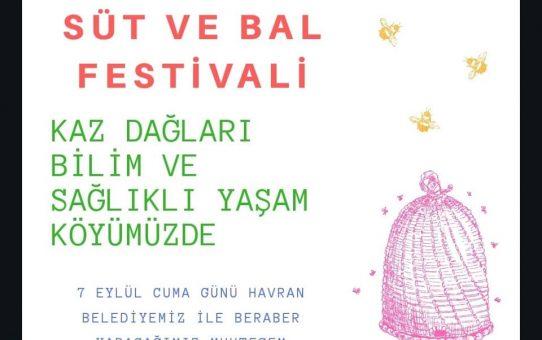 7 EYLÜL SÜT VE BAL FESTİVALİ